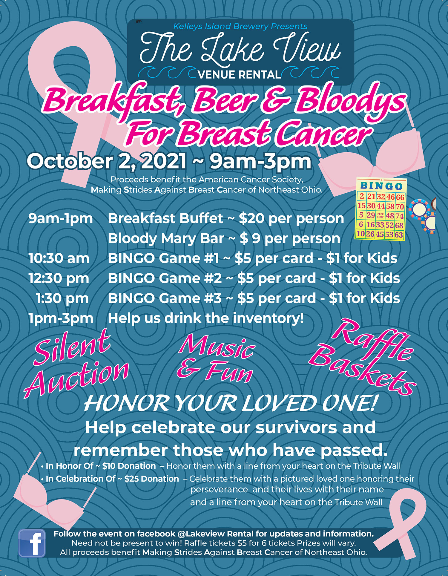 Breakfast, Beer and Bloodys for Breast Cancer